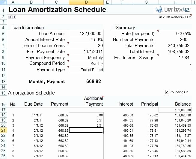 Line Of Credit Calculator Excel Inspirational Line Of Credit Amortization Schedule Excel – Iamfreeub