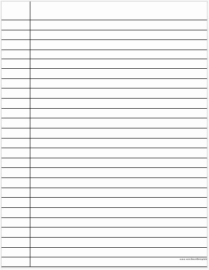 Lined Paper for Handwriting Practice Beautiful Ms Word Lined Papers for Handwriting Practice