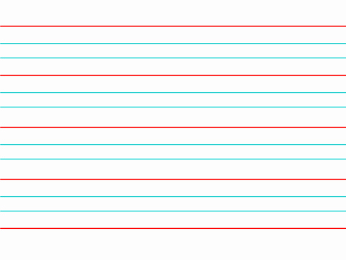 Lined Paper for Handwriting Practice Best Of Handwriting Planning Scheme Of Work and Resources by