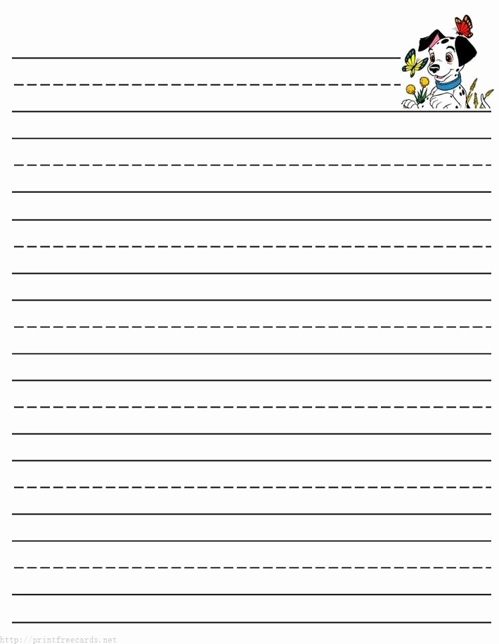 Lined Paper for Handwriting Practice Elegant Writing Tablet Paper Printable Printable 360 Degree
