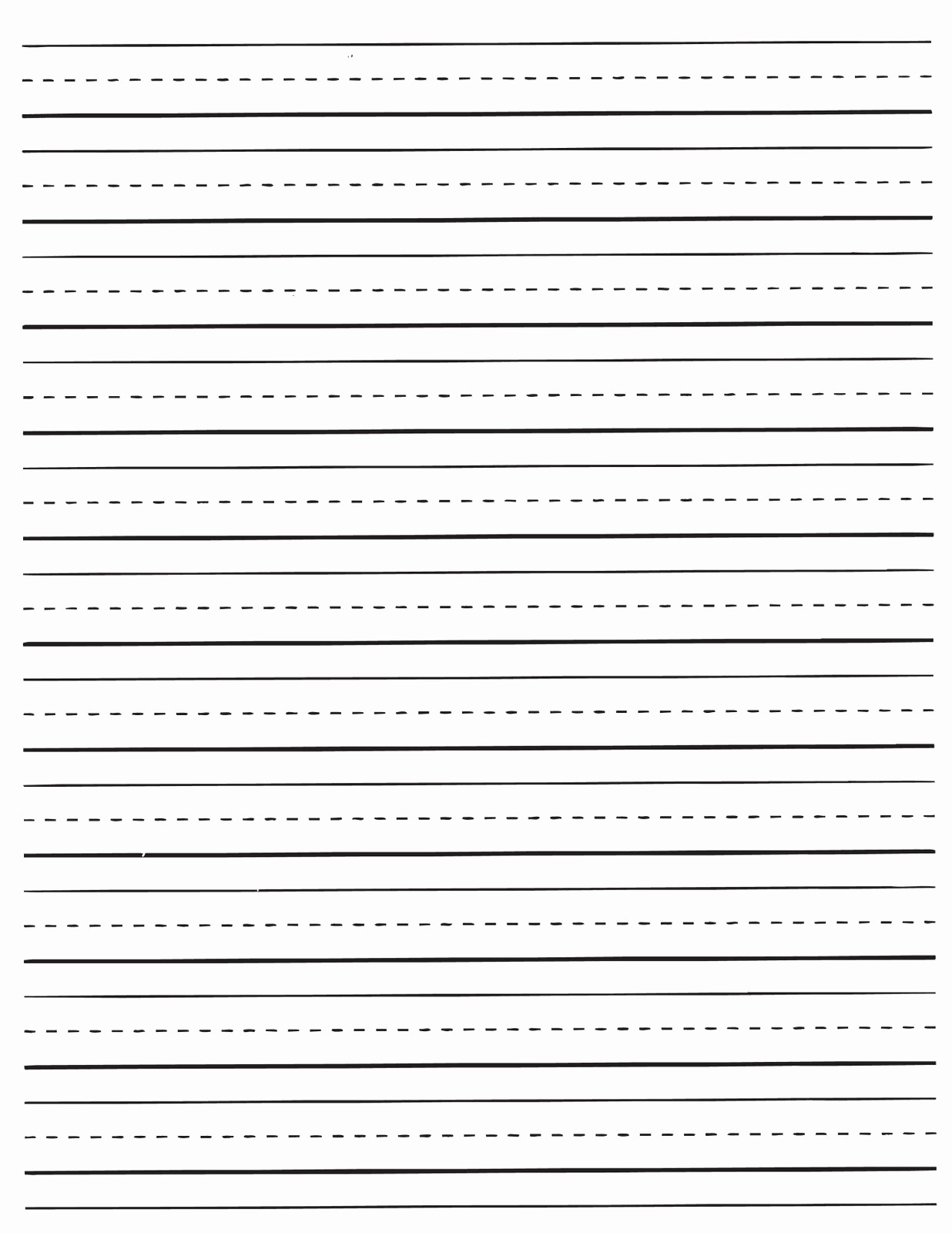 Lined Paper for Handwriting Practice Fresh Printable Dotted Lined Paper Printable Pages