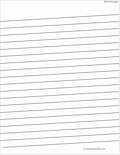Lined Paper for Handwriting Practice Luxury Ms Word Lined Papers for Handwriting Practice