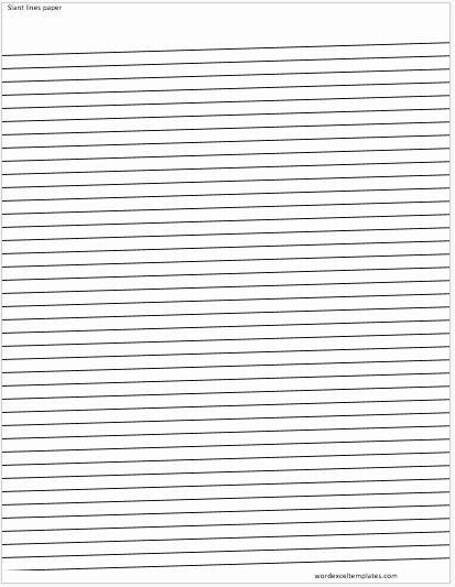 Lined Paper for Handwriting Practice New Ms Word Lined Papers for Handwriting Practice