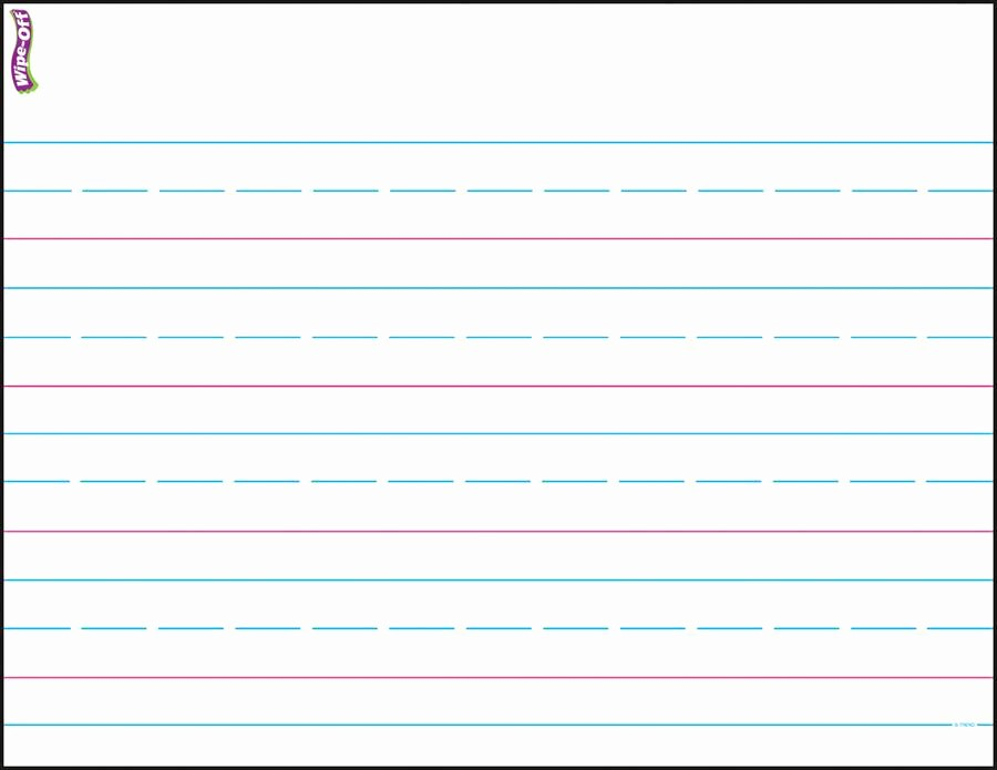 Lined Paper for Handwriting Practice New Printable Writing Paper for Second Grade Kids Printing