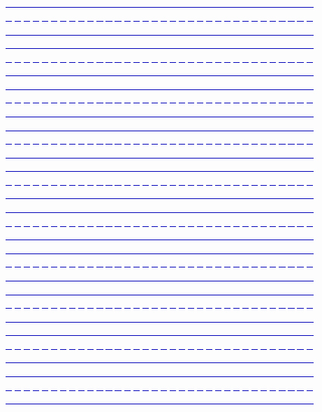 Lined Sheets for Handwriting Practice Best Of Printable Handwriting Paper New Calendar Template Site
