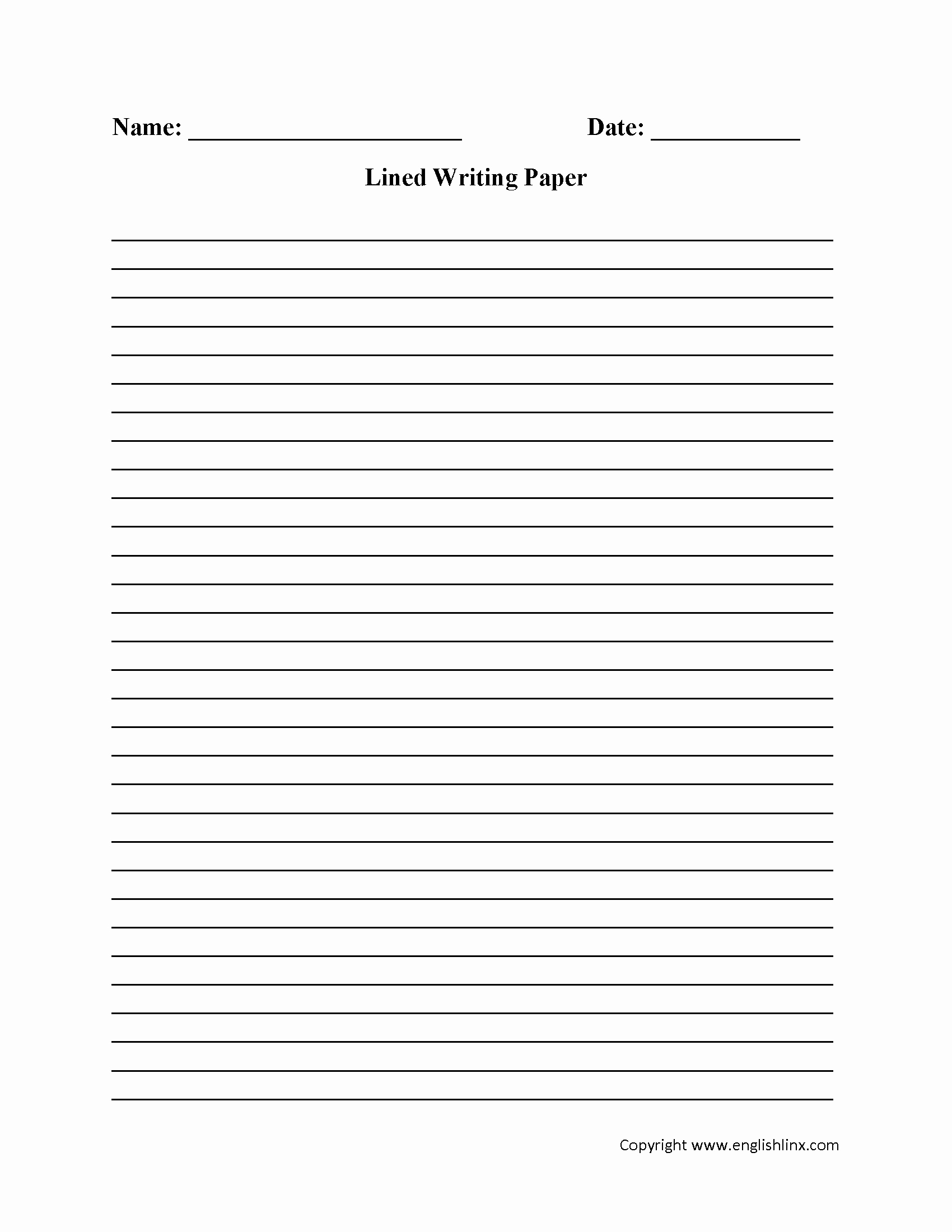 Lined Sheets for Handwriting Practice Luxury Writing Worksheets