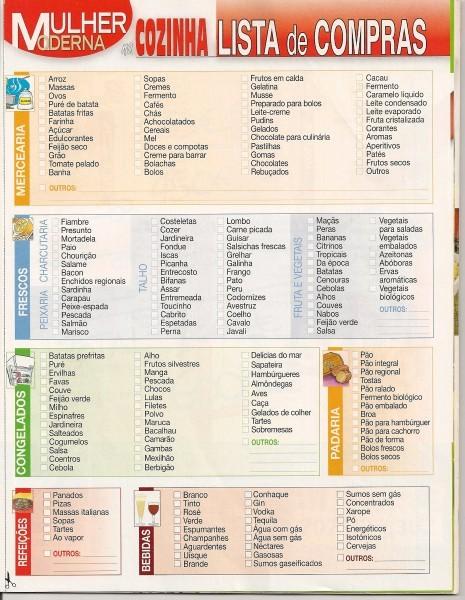 Lista De Compras Supermercado Excel Awesome Lista De Pras Para Casa Nova Enxoval