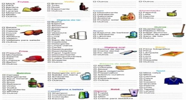 Lista De Compras Supermercado Excel Inspirational Lista De Pras De Supermercado Mensal Preços