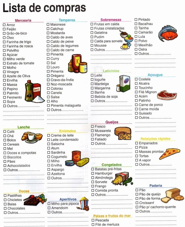 Lista De Compras Supermercado Excel Lovely Resultado De Imagen Para Lista De Pras Supermercado