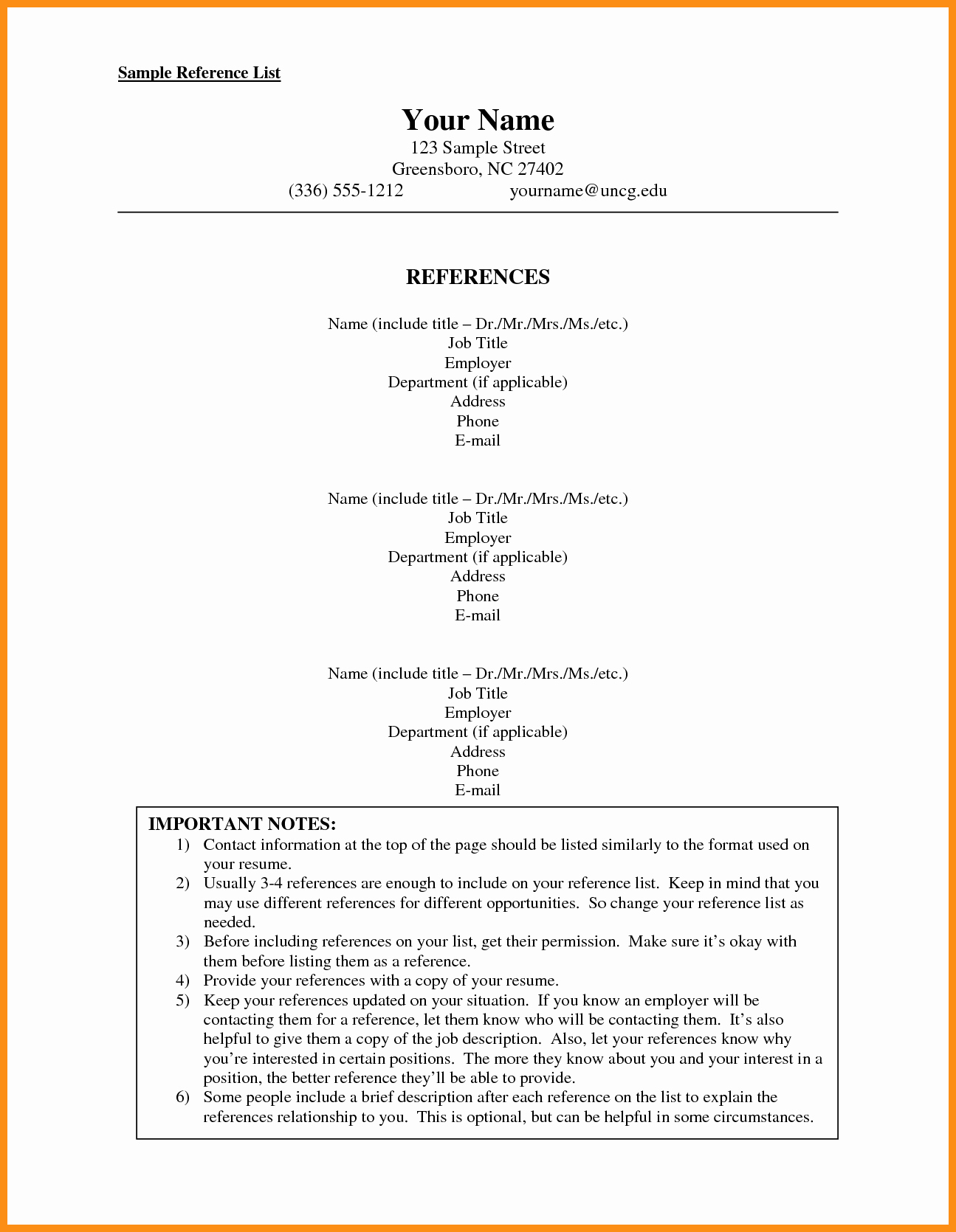 Listing References On A Resume Awesome 10 11 How to Make A Reference List for A Job