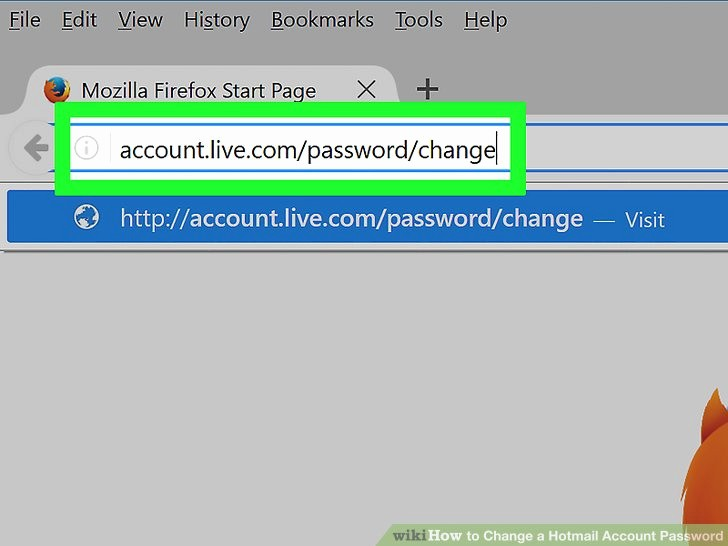 Live Com Login Email Account Inspirational 2 Easy Ways to Change A Hotmail Account Password Wikihow