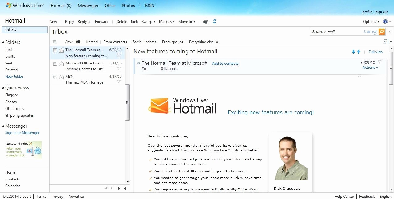 Live Com Login Email Account Lovely Microsoft S Fix for Hotmail Woes Google Chrome Geek
