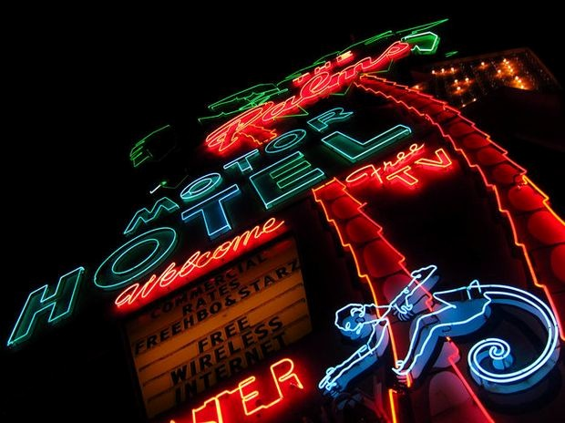 Live Com Login Sign In Best Of Portland S Past Glows On with Vintage Neon Signs