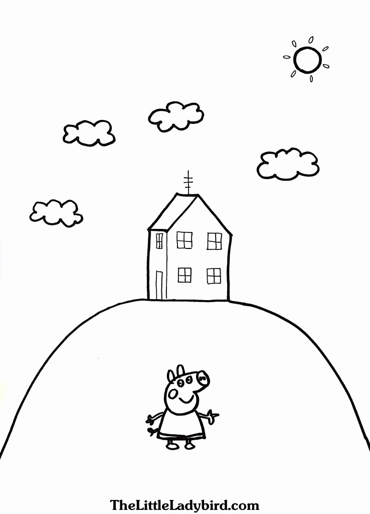 Live Com Sign In Page Best Of Peppa Pig House Coloring Pages