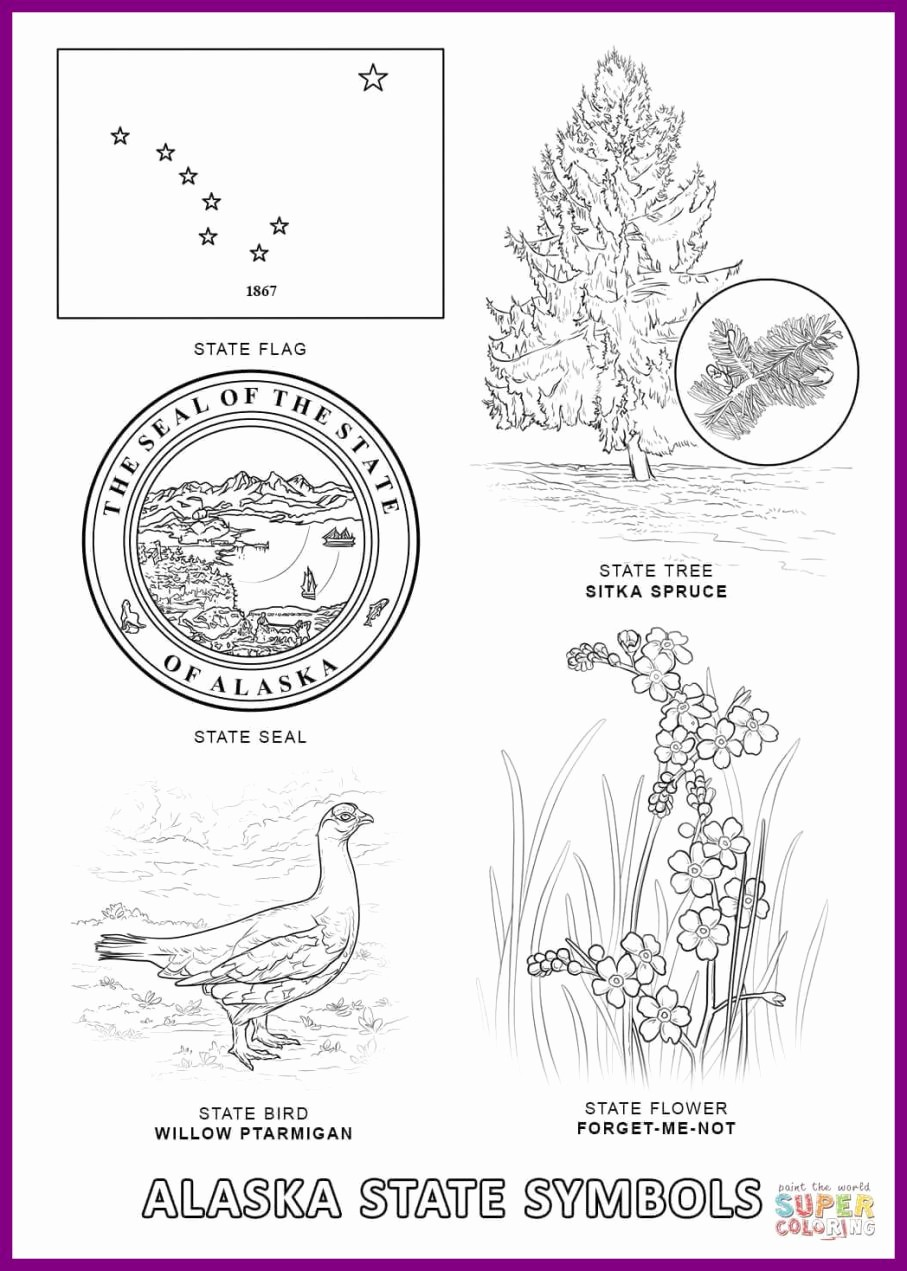 Live Com Sign In Page Fresh Wonderful Alaska State Flag Coloring Page Exciting Pages