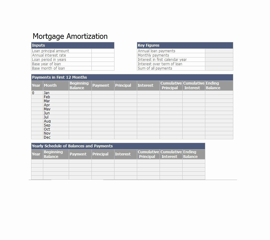 Loan Amortization Calculator Extra Payments Lovely Excel Loan Amortization Template Download Ms Excel