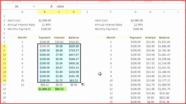 Loan Amortization Calculator with Balloon New Interest Ly Balloon Payment Calculator Amortization