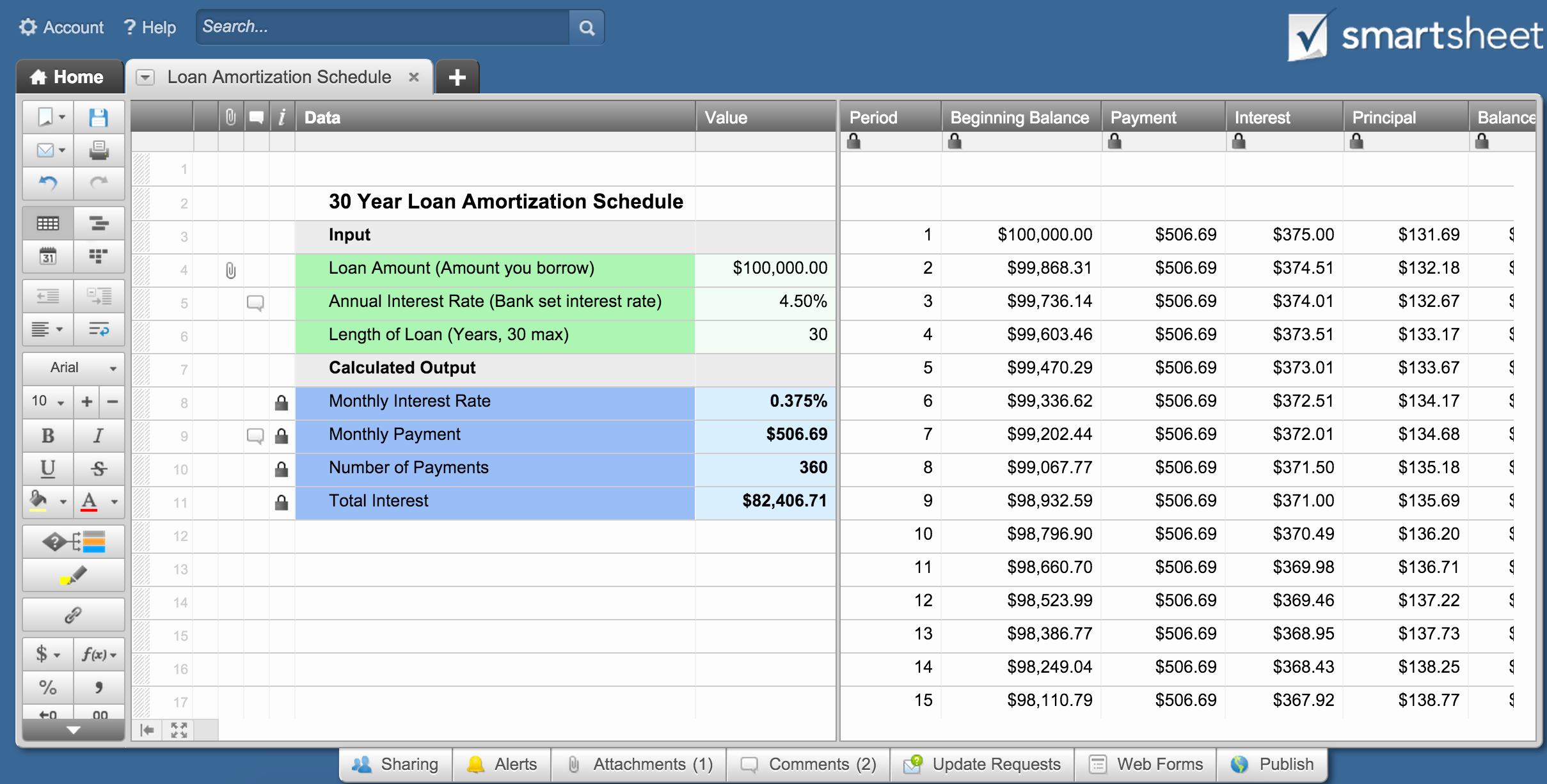 Loan Amortization with Extra Payment Beautiful Excel Loan Amortization Schedule with Extra Principal