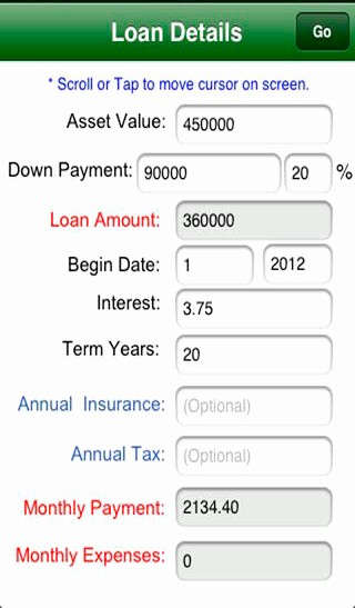 Loan Amortization with Extra Payment Elegant Home Mortgage Calculator Mortgage & Loan Calculator
