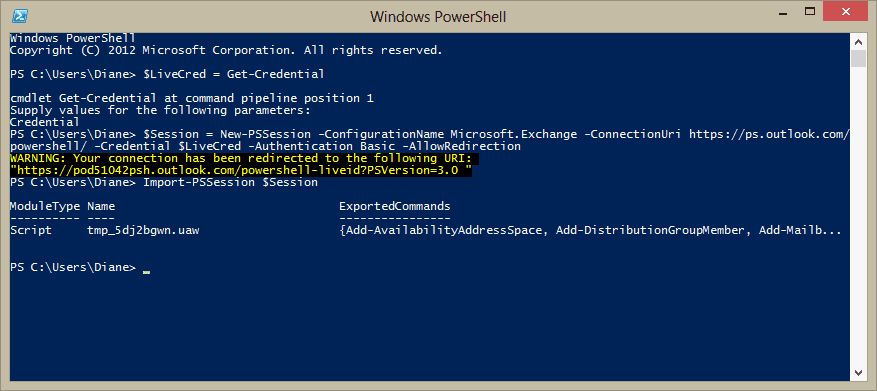 Log In to Microsoft 365 Awesome Use Powershell to Log Into Fice 365 Exchange