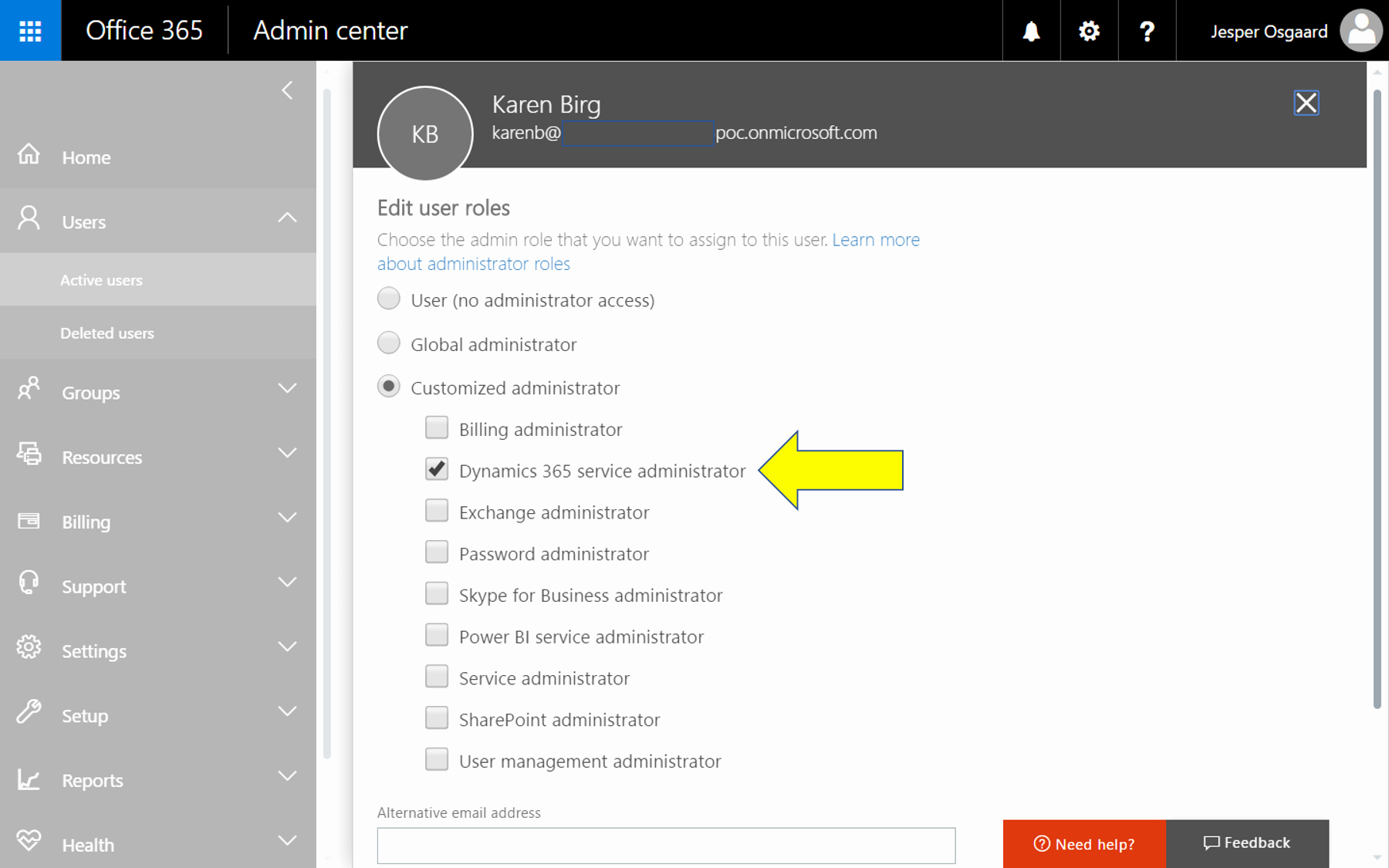 Log In to Microsoft 365 Luxury Administer Dynamics 365 without Global Admin Rights