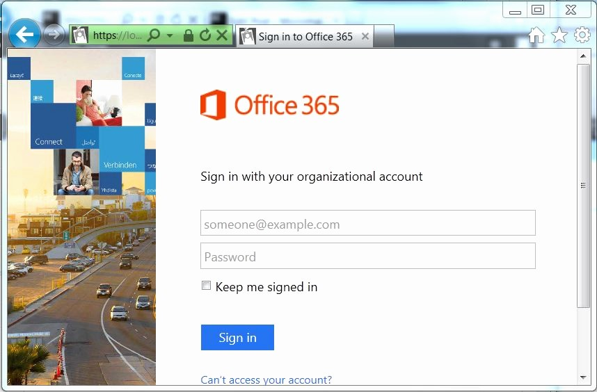 Log In to Microsoft 365 Unique where Microsoft Account and organisational Account Meet