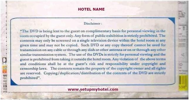 Lost and Found form Sample Inspirational Front Desk Dvd Rental Movie On Rent Disclaimer Hotels