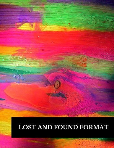 Lost and Found Log Book Beautiful 14 Best Nonprofit organizations & Charities Images On
