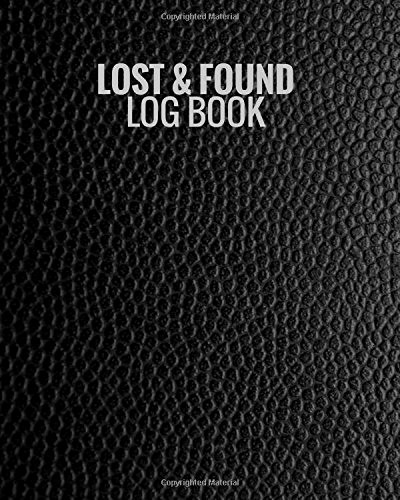 Lost and Found Log Book Beautiful Lost & Found Log Book Black Lost Property Template