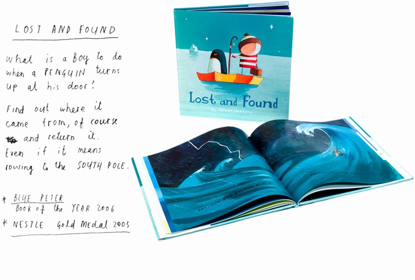 Lost and Found Log Book Elegant Deliving Design & Craft Oliver Jeffers Un Ilustrador