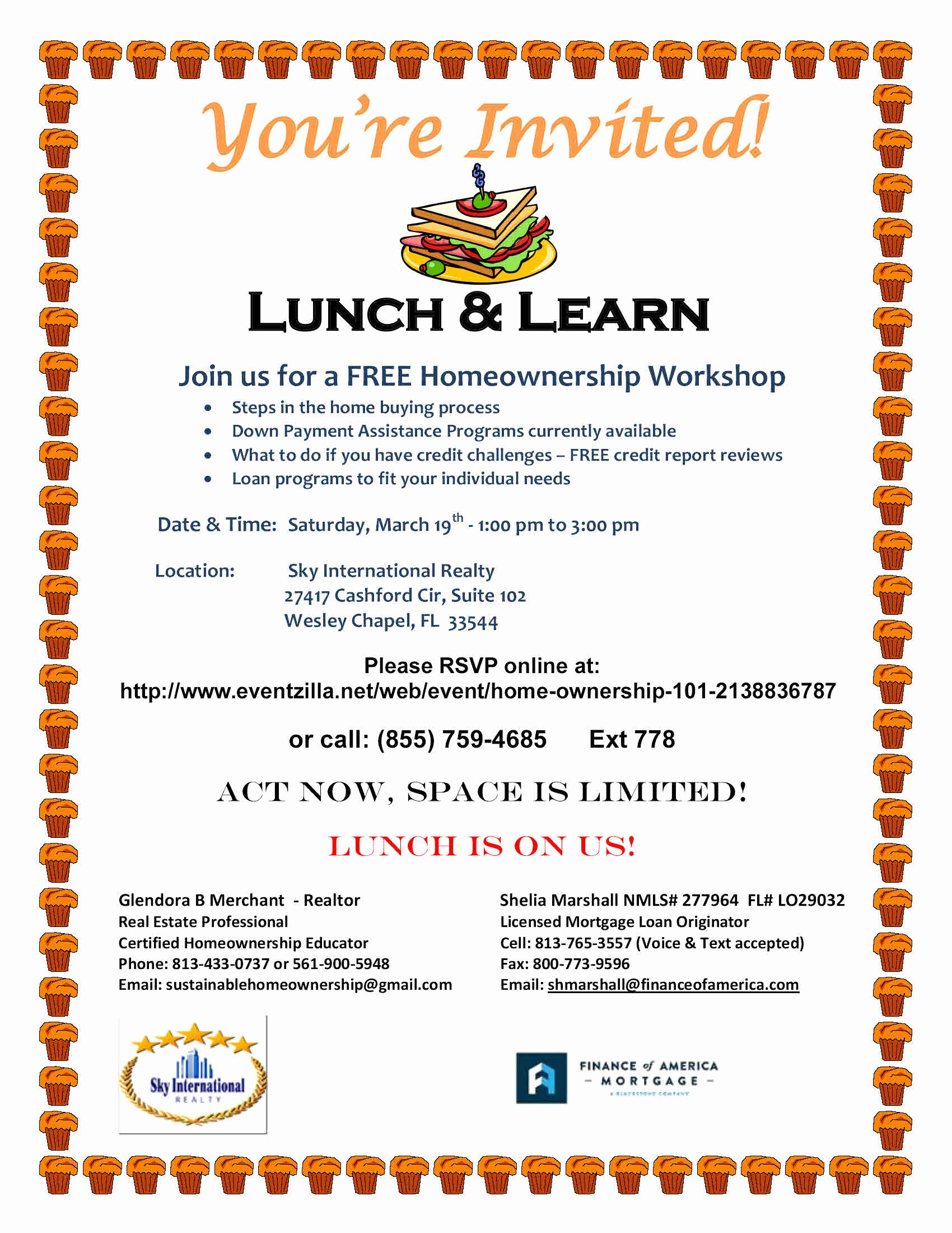 Lunch and Learn Invitation Template Awesome Real Estate Education and Seminars