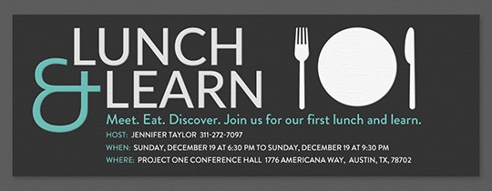 Lunch and Learn Invitation Template Beautiful Meetings Free Online Invitations