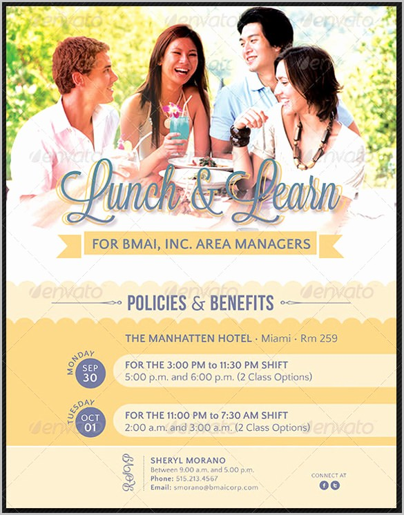 Lunch and Learn Invitation Template Fresh 17 Business Meeting Invitation Templates Psd Vector