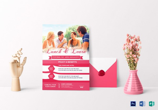 Lunch and Learn Invitation Template Luxury 27 Lunch Invitation Designs & Examples Psd Ai Vector Eps