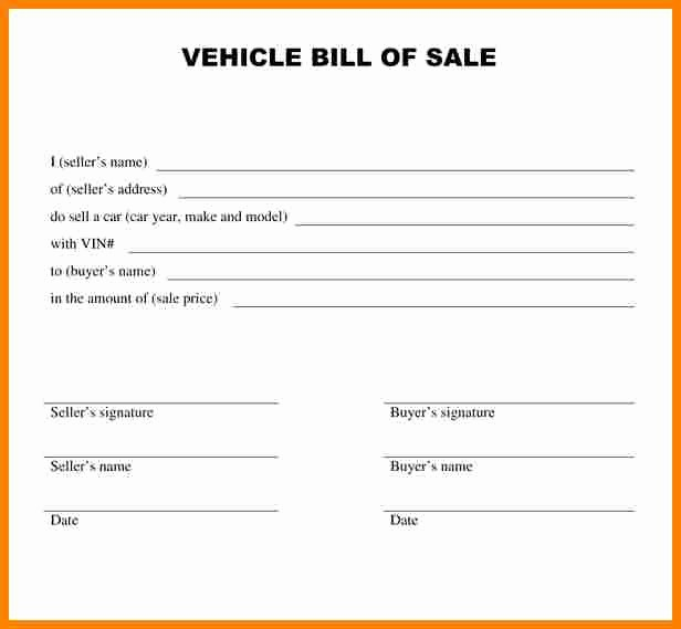 Ma Automobile Bill Of Sale Awesome 8 Bill Of Sale Alabama Car