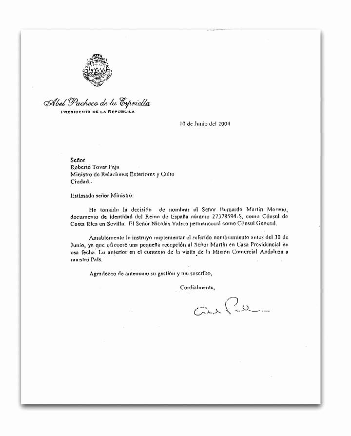 Machote De Carta De Renuncia Elegant Nacion San José Costa Rica [nacionales]