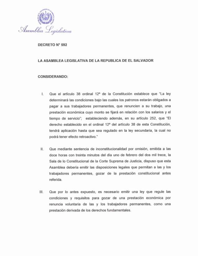 Machote De Carta De Renuncia New Ley Reguladora De La Prestación Económica Por Renuncia