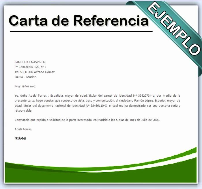 Machotes De Cartas De Renuncia Elegant Cómo Escribir Una Carta De Referencia