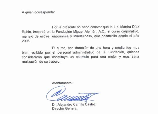 Machotes De Cartas De Renuncia Lovely Cartas De Re Endacin Y Fundacin Miguel Aleman Cartas De