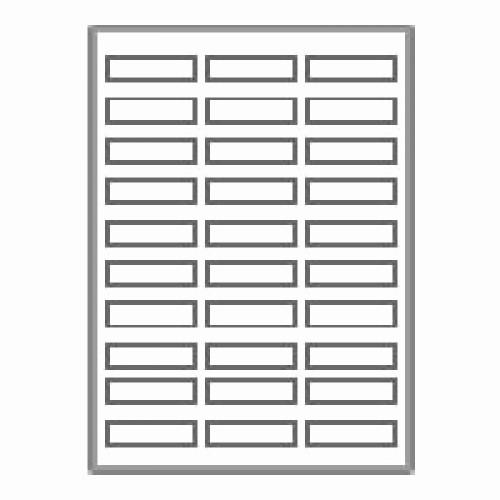 "Mailing Labels 30 Per Sheet Best Of 3000 Neato Address Labels 30 Per Sheet 2 5 8"" X 1"
