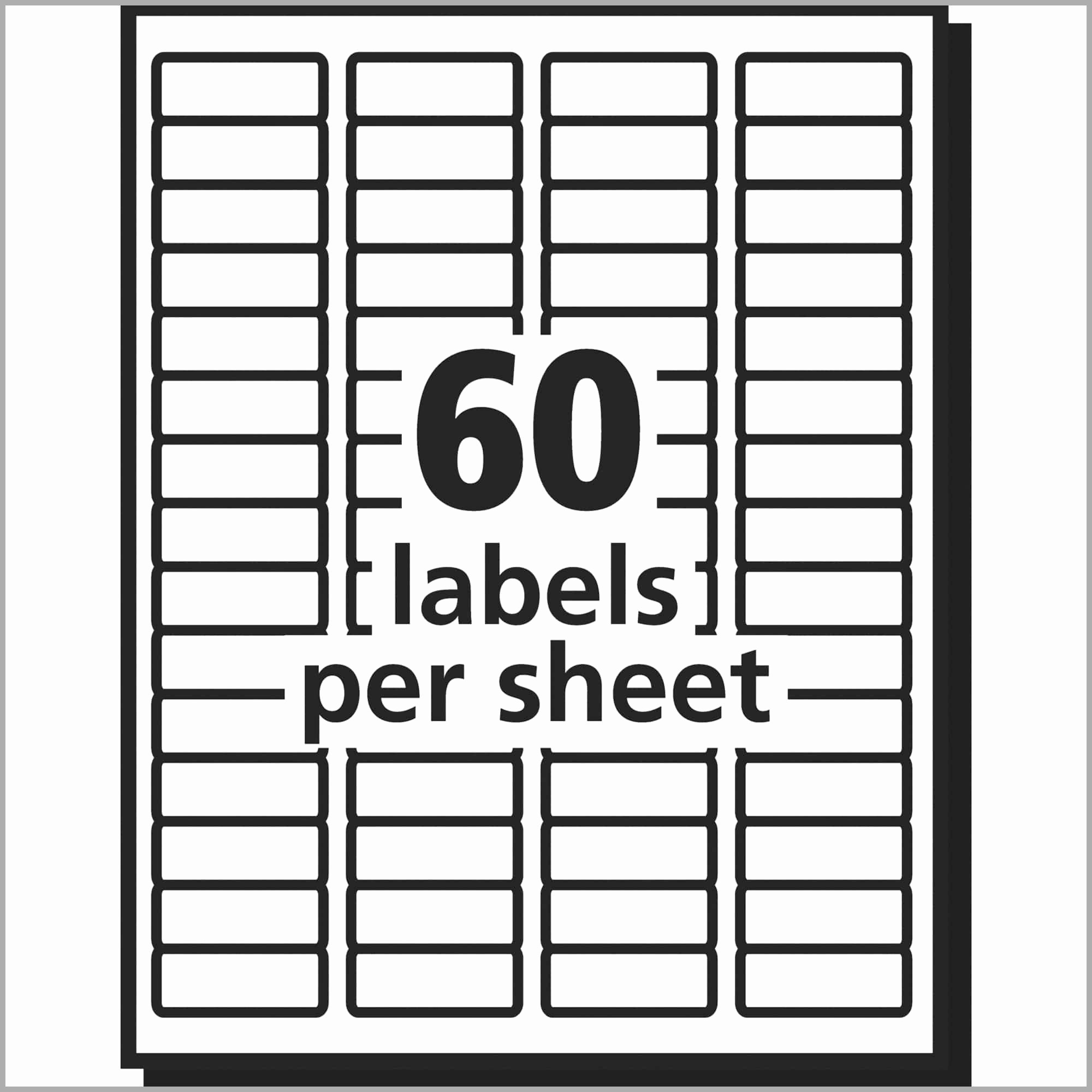 Mailing Labels 30 Per Sheet Fresh 19 Fresh Ideas Avery Address Label Template 30 Per