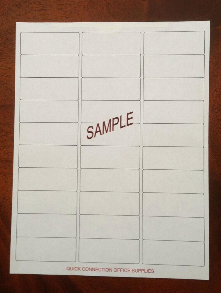"Mailing Labels 30 Per Sheet Fresh 300 Blank Address Labels 1"" X 2 5 8"" 30 Per Sheet"