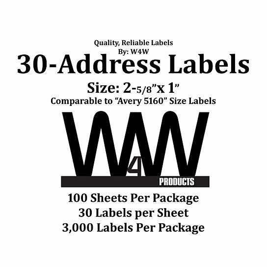 Mailing Labels 30 Per Sheet Lovely Buy High Quality Name and Address Mailing Labels 30