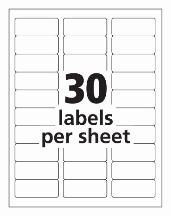 Mailing Labels 30 Per Sheet New Label Templates 30 Per Sheet Invitation Template