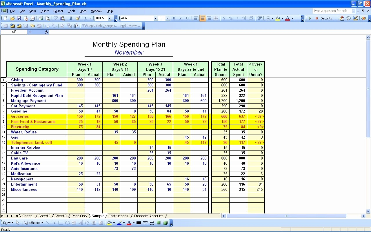 Make A Budget On Excel Elegant How Do I Make A Bud Spreadsheet within Howo Create