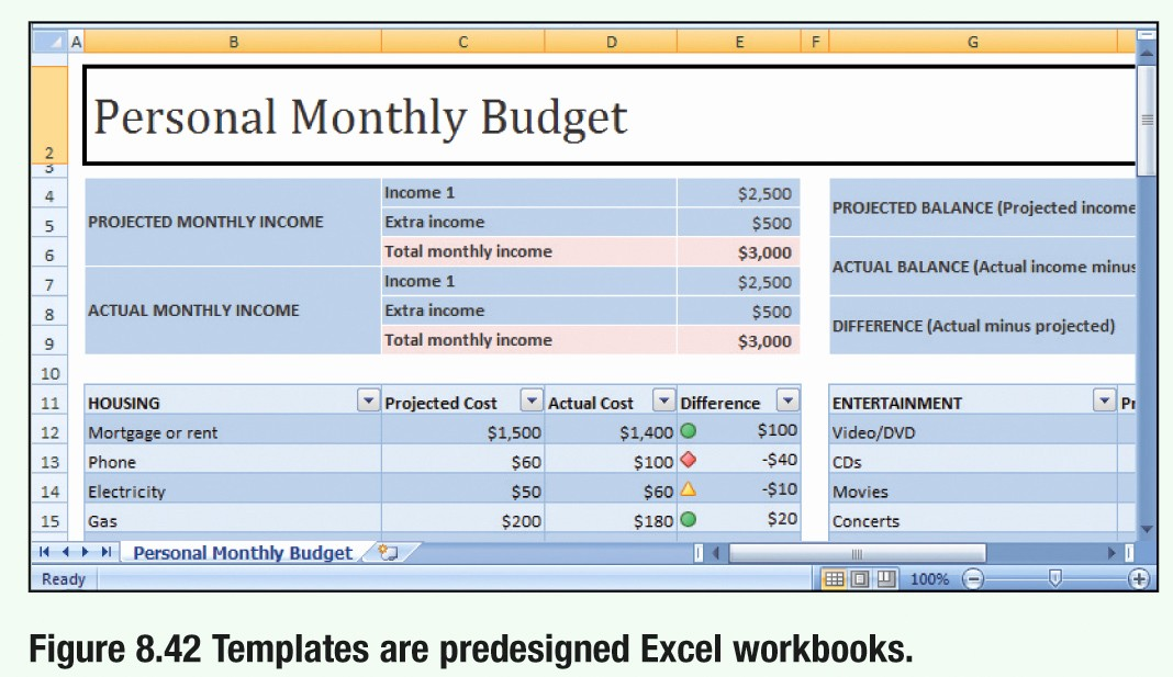 Make A Budget On Excel Fresh Creating Spreadsheets Using Microsoft Excel 2007