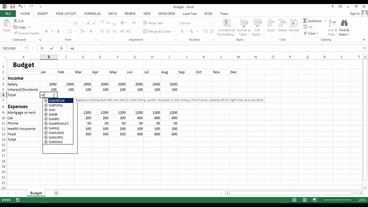 Make A Budget On Excel Inspirational Excel Bud Create Your Own Bud Sheet