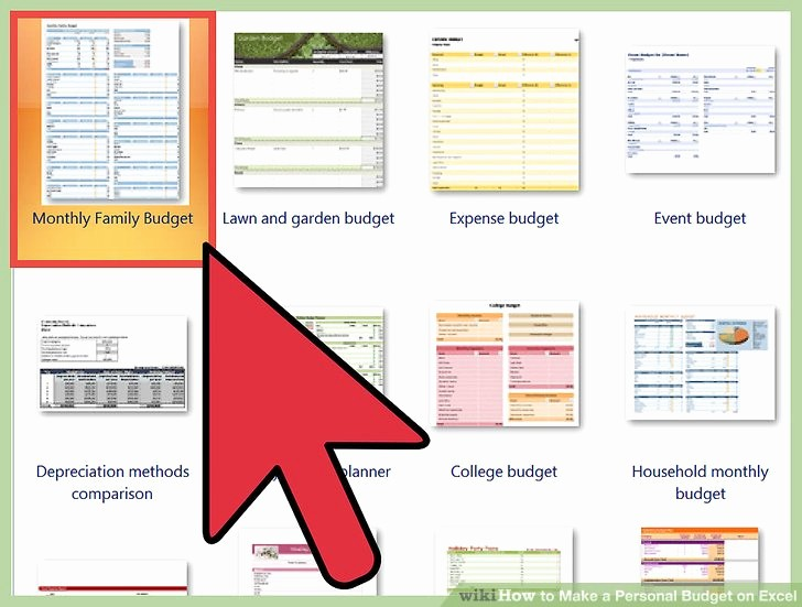 Make A Budget On Excel Inspirational How to Make A Personal Bud On Excel with
