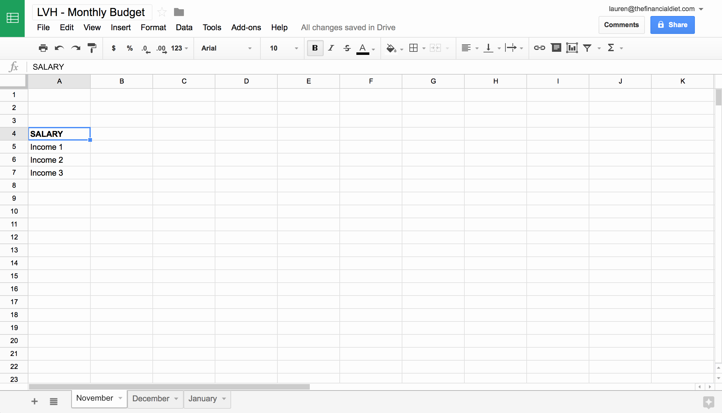 Make A Budget On Excel Luxury Creating A Bud In Excel Template