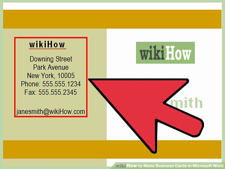 Make A Card In Word Awesome How to Make Business Cards In Microsoft Word with